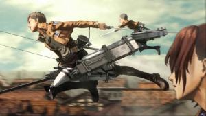 Attack on Titan Wings of Freedom screenshot